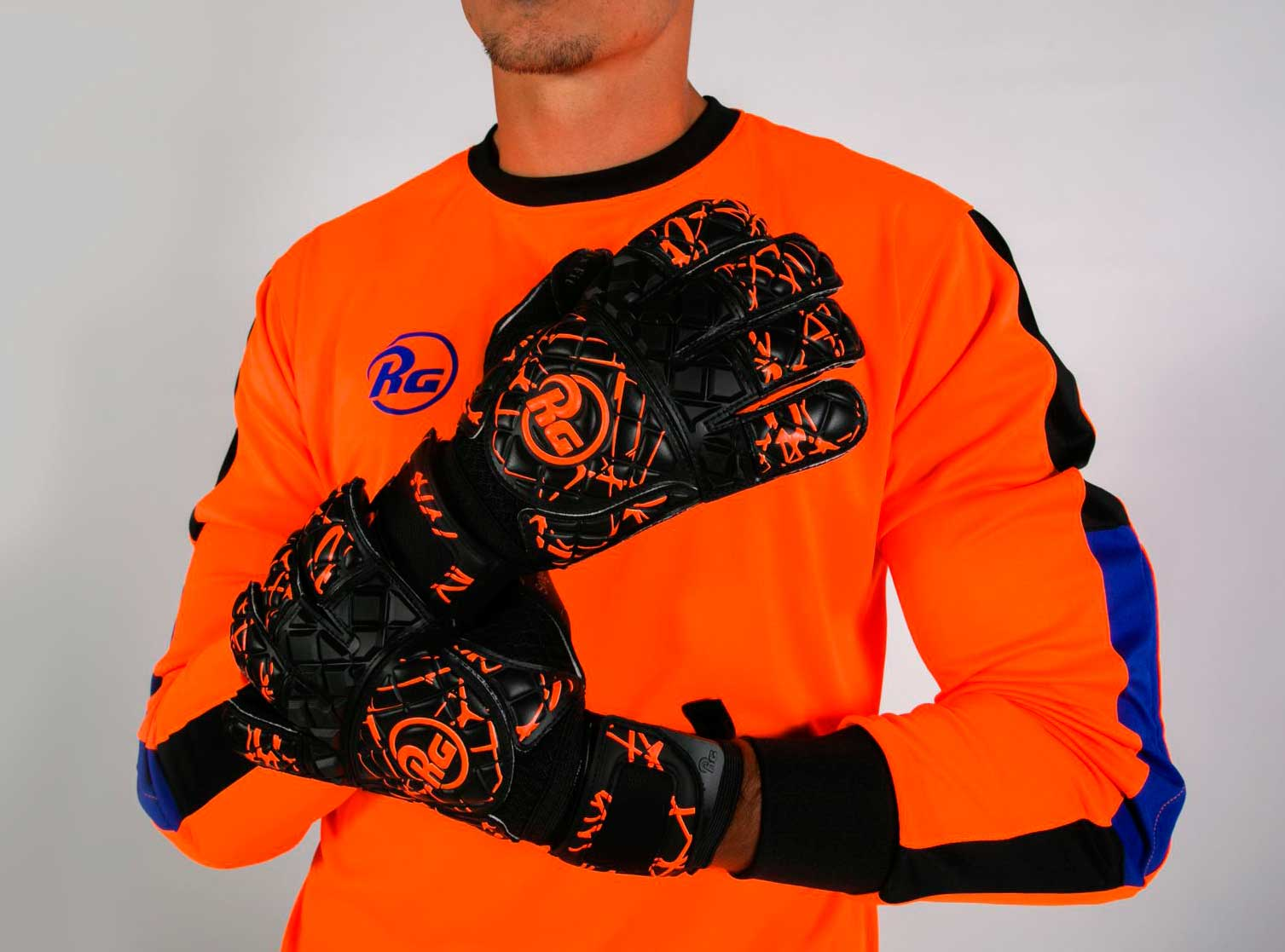 Gants de gardien de but Snaga orange