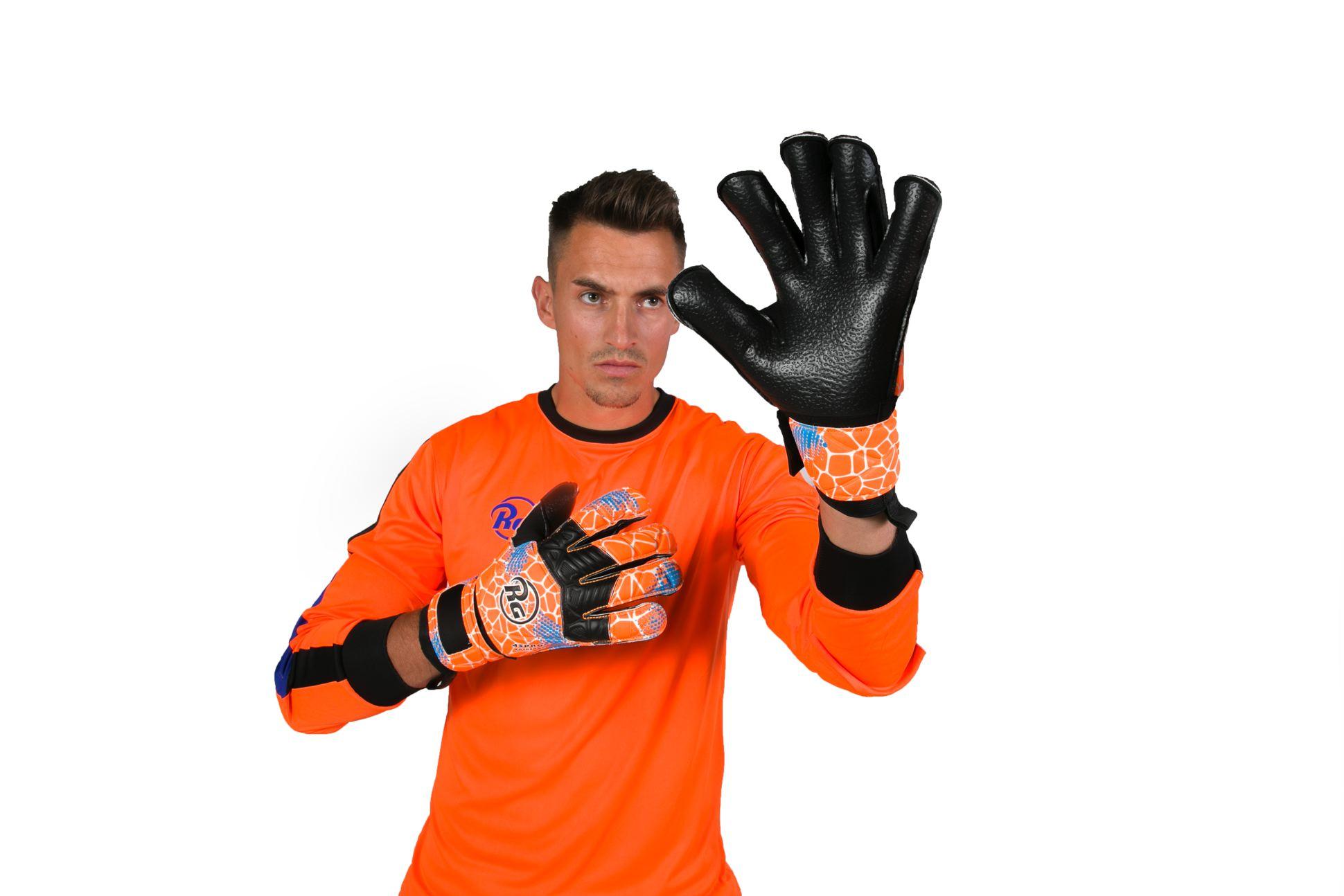 Gants de gardien de foot RG Aspro entreno 2019