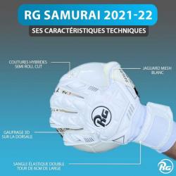 Gants de gardien de but - RG SAMURAI 2021-22