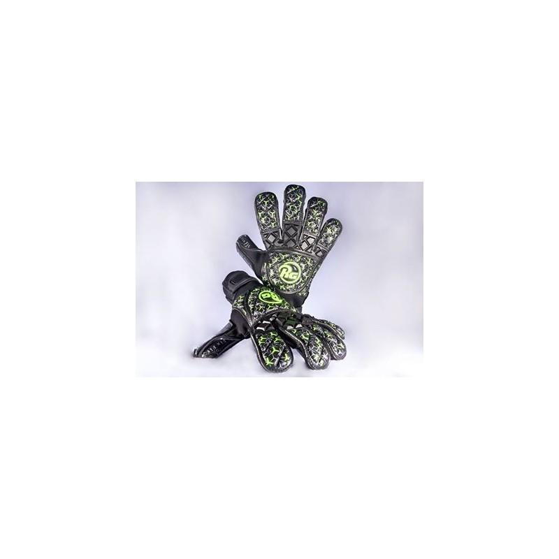 RG Snaga Black/Green Edition Noël - Gant de gardien de but